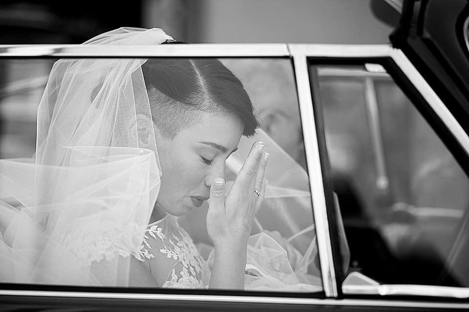 fotografo di matrimonio brescia la sposa arriva in chiesa