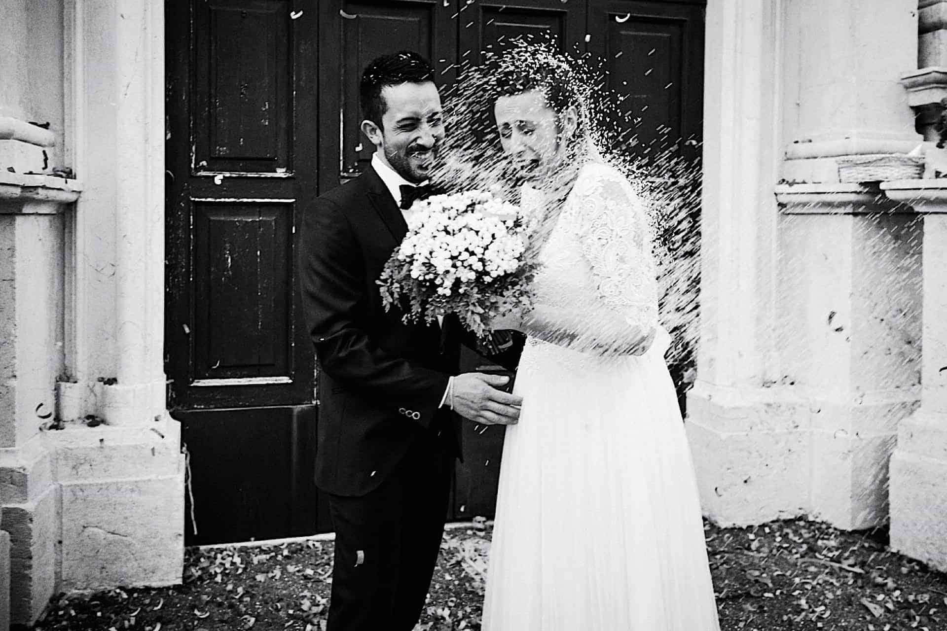 Fotografia di matrimonio naturale e spontanea