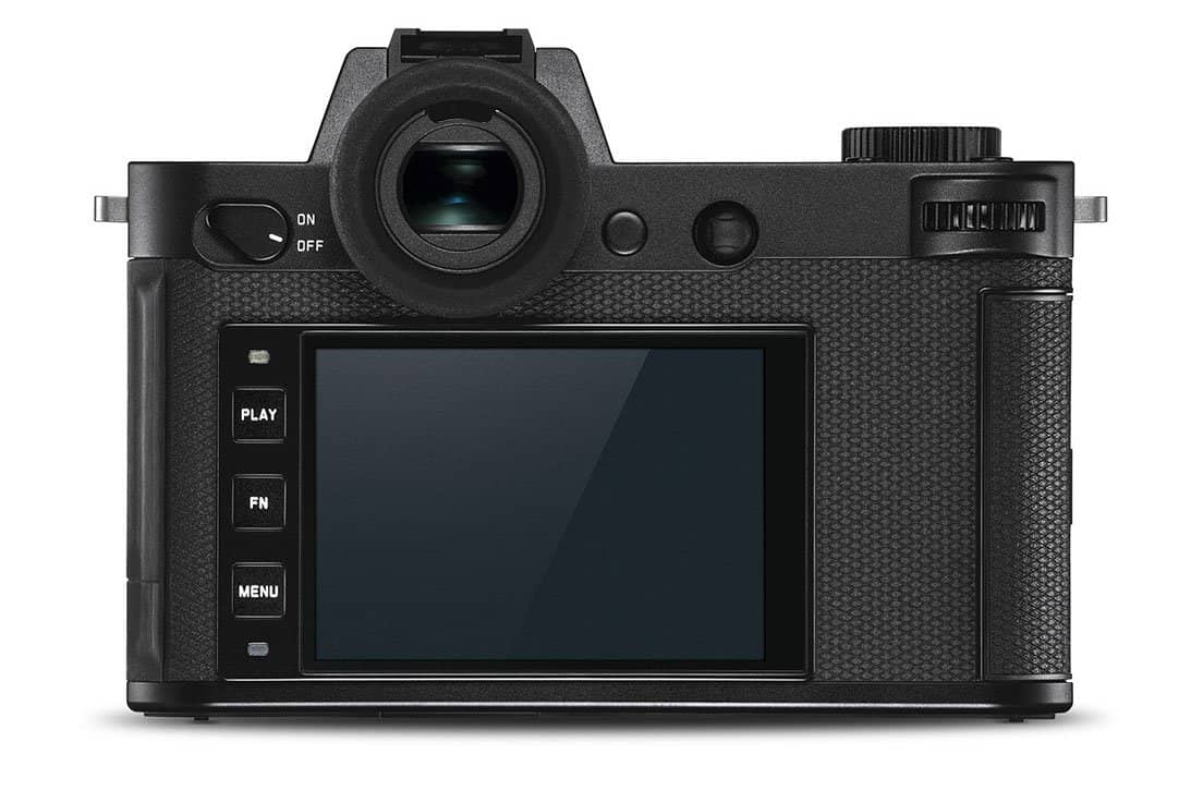 Leica SL2 posteriore