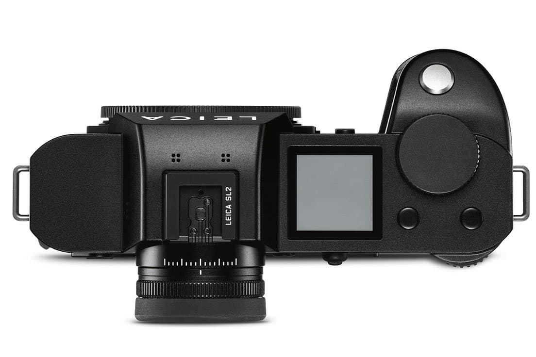 Leica SL2 vista superiore